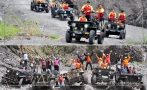 Jeep lava tour merapi